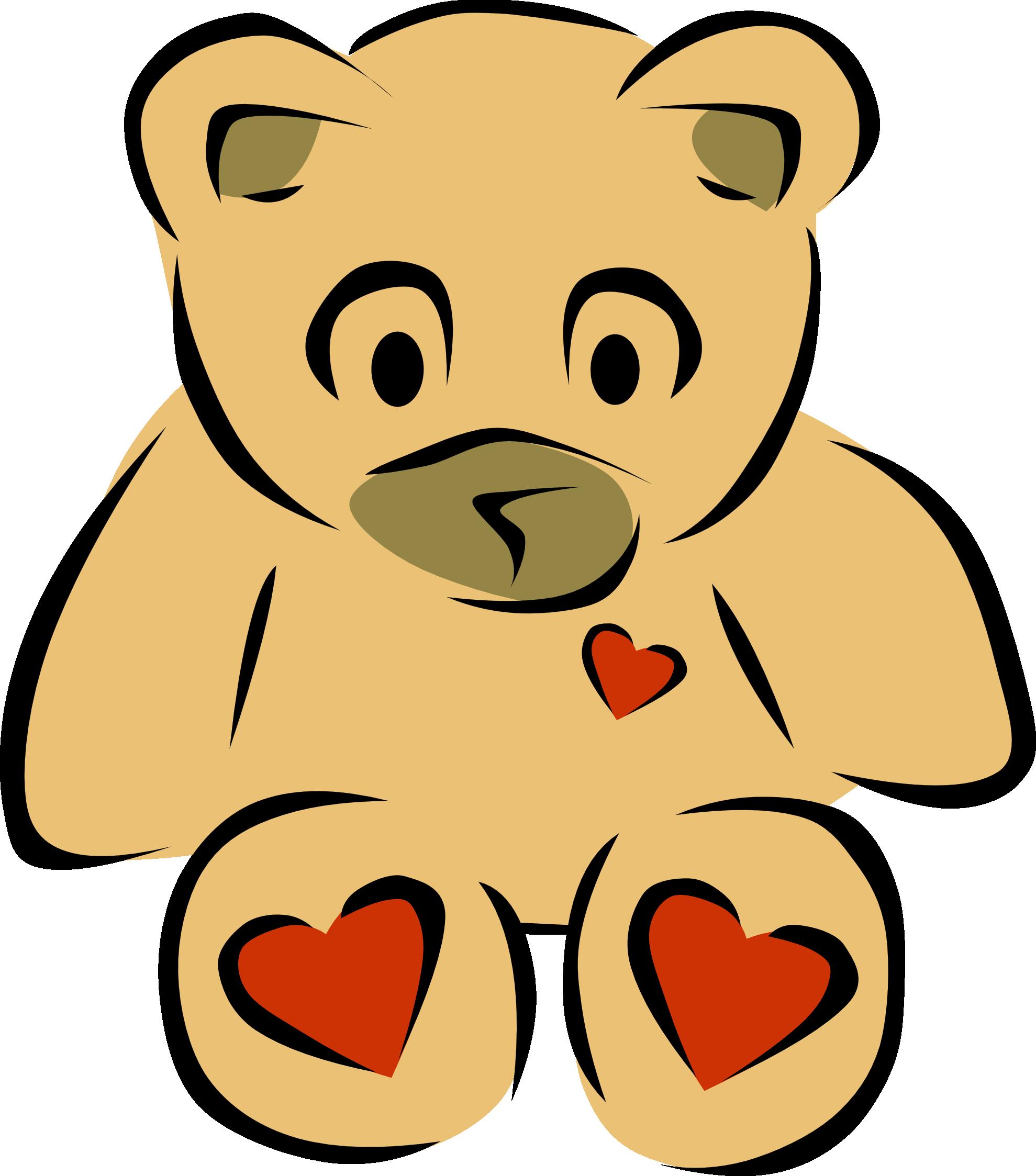 Heart clipart christmas. Pink teddy bear panda