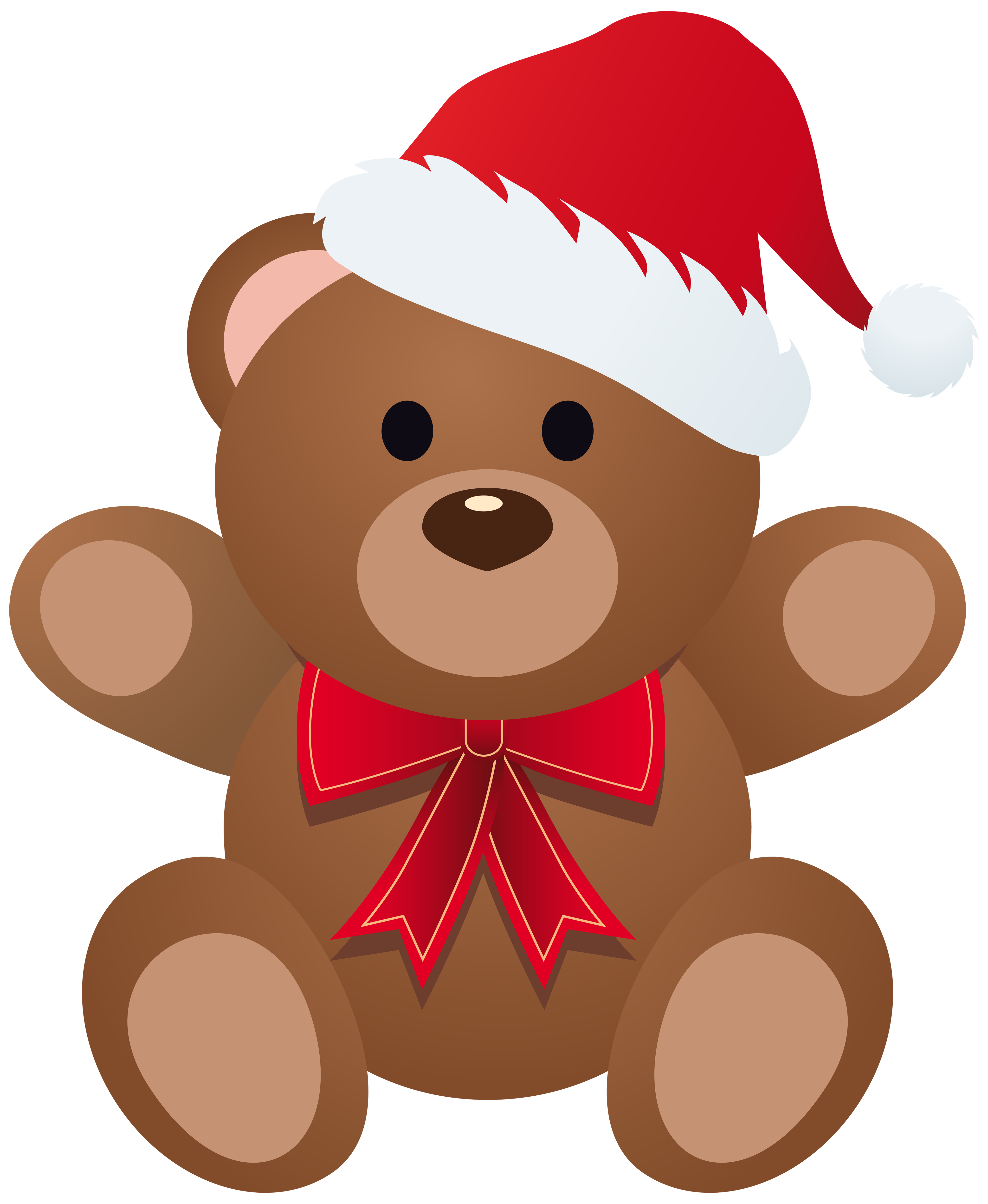 Teddy png image gallery. Clipart bear christmas