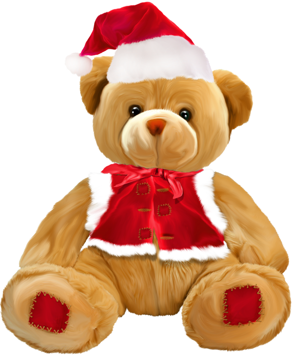 Teddy png gallery yopriceville. Clipart bear christmas