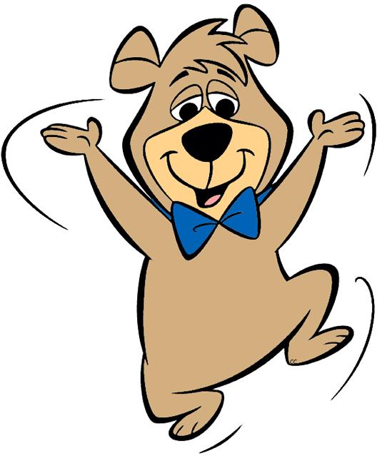 Yogi cartoon. Clipart bear clip art
