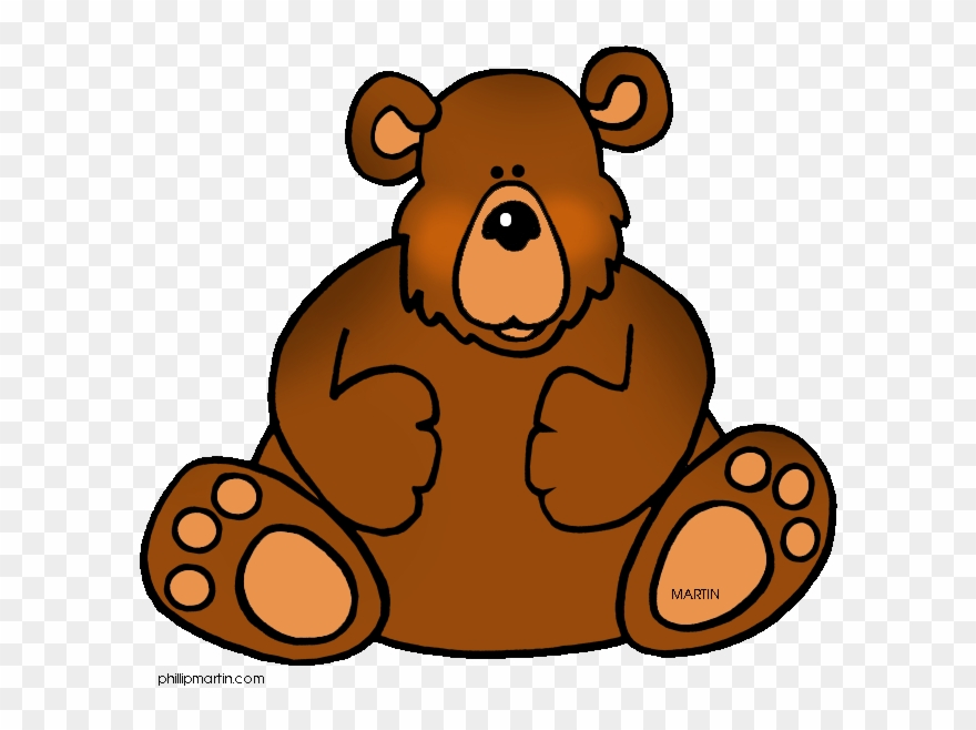 Clipart bear clip art. Free animals by phillip
