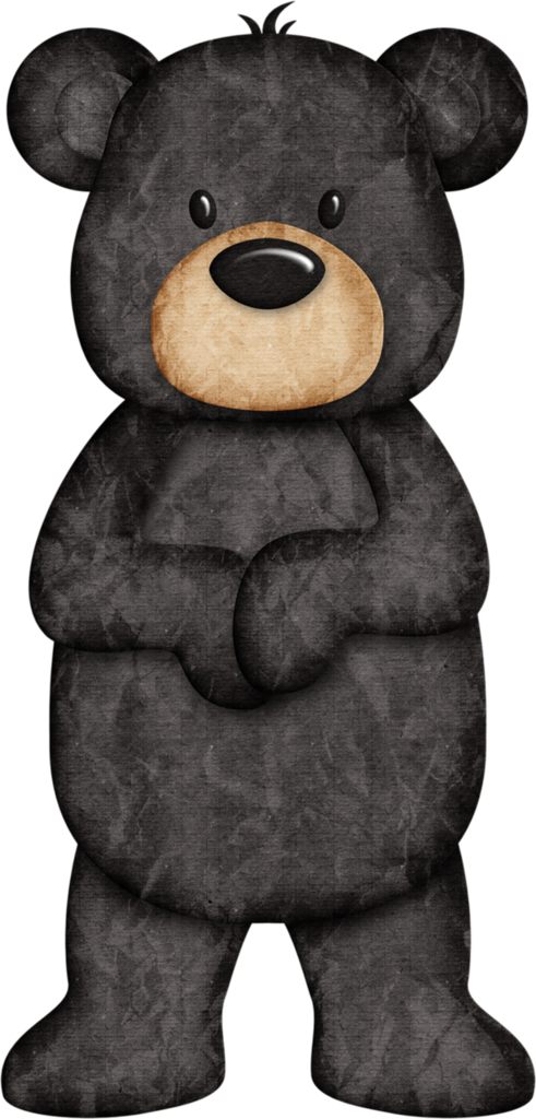 Woodland clipart bear. Jss happycamper black png