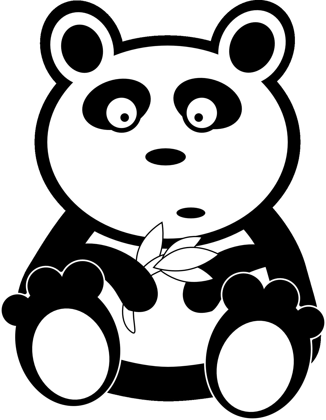 Clipart cow kawaii. Cute panda bear free
