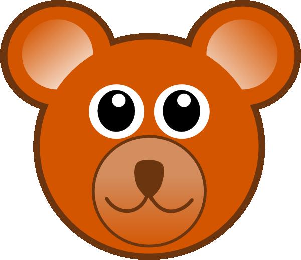 Clip art at clker. Ears clipart teddy bear
