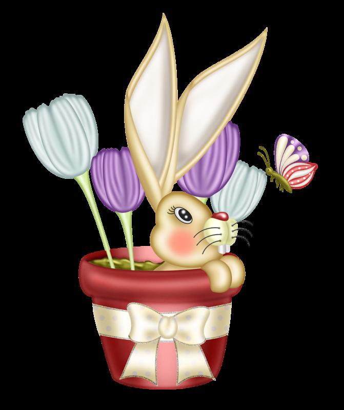 Bunny clip art pinterest. Clipart bear easter