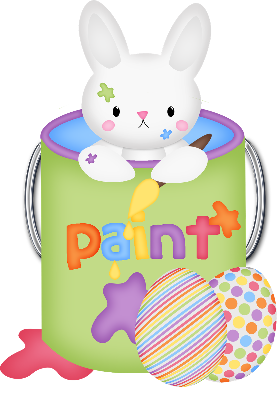 clipart bear easter