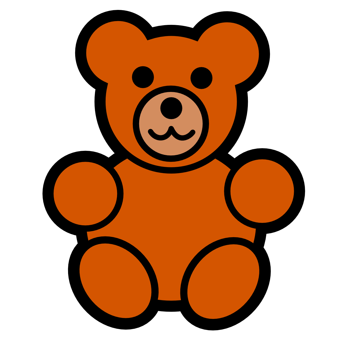 Clipart bear easy.  collection of teddy
