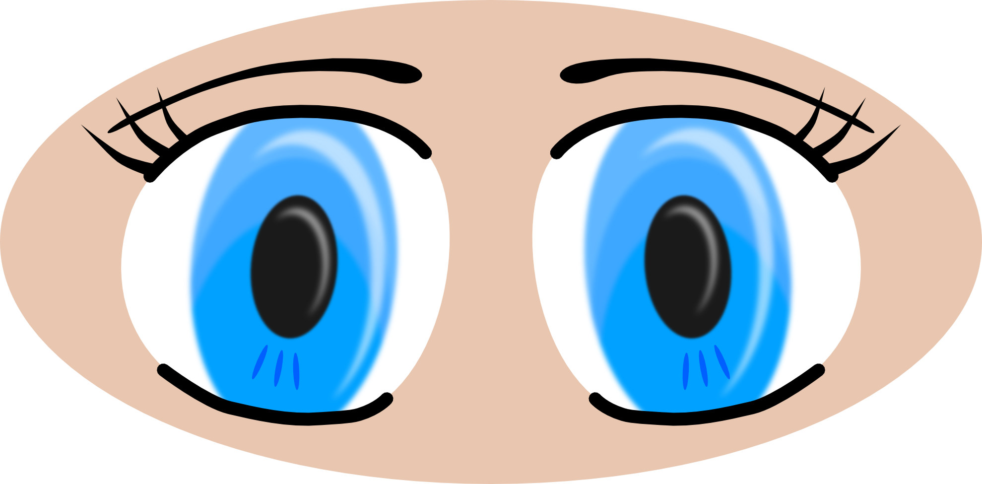 Zombie clipart eyes. Scary at getdrawings com