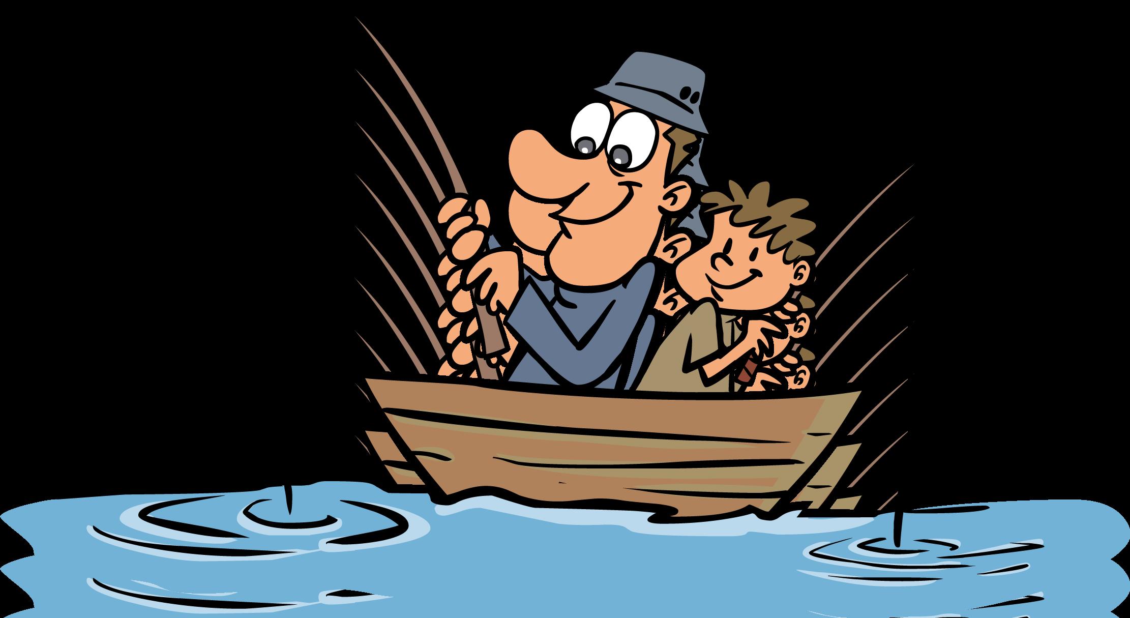 Clipart lake habitat pond. Fishing cartoon png humor