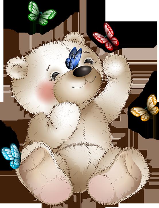 Butterflies cute pinterest bears. Hunter clipart cartoon bear