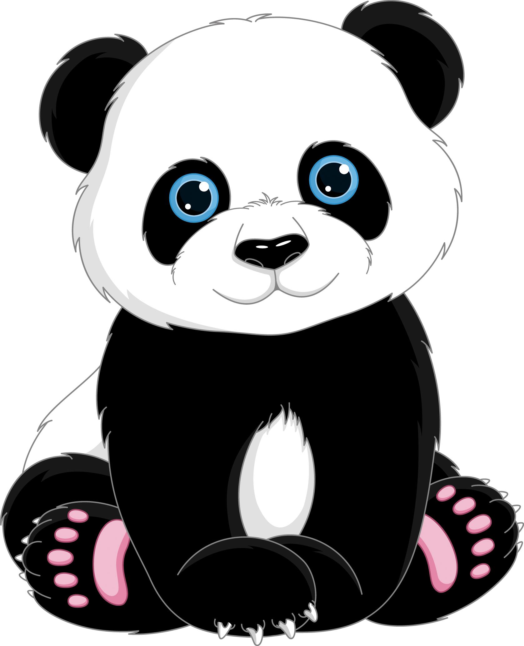 Clipart bear giant panda. T shirt cuteness clip