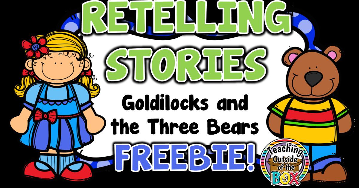 Teaching outside of the. Clipart bear goldilocks