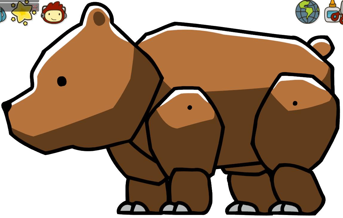 Clipart bear goldilocks. Scribblenauts wiki fandom powered