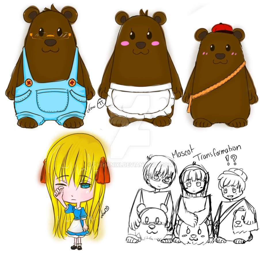 Adoptables goldilocks and the. Clipart bed three bears