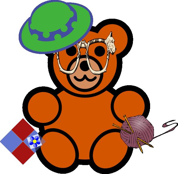 Grandma clip art at. Grandpa clipart bear