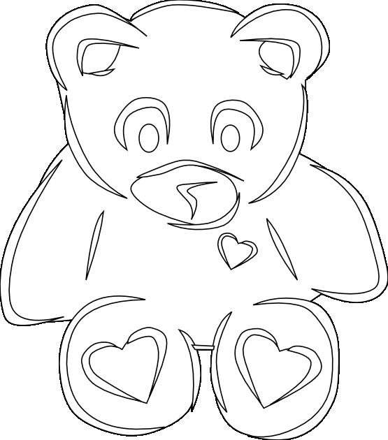 Clipartist net clip art. Clipart bear heart