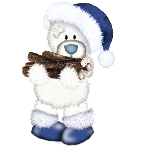 Tatty teddy xmas clip. House clipart bear