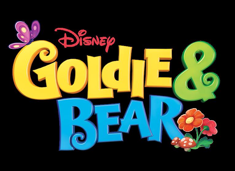 Goldie bear best friends. Fairytale clipart easy