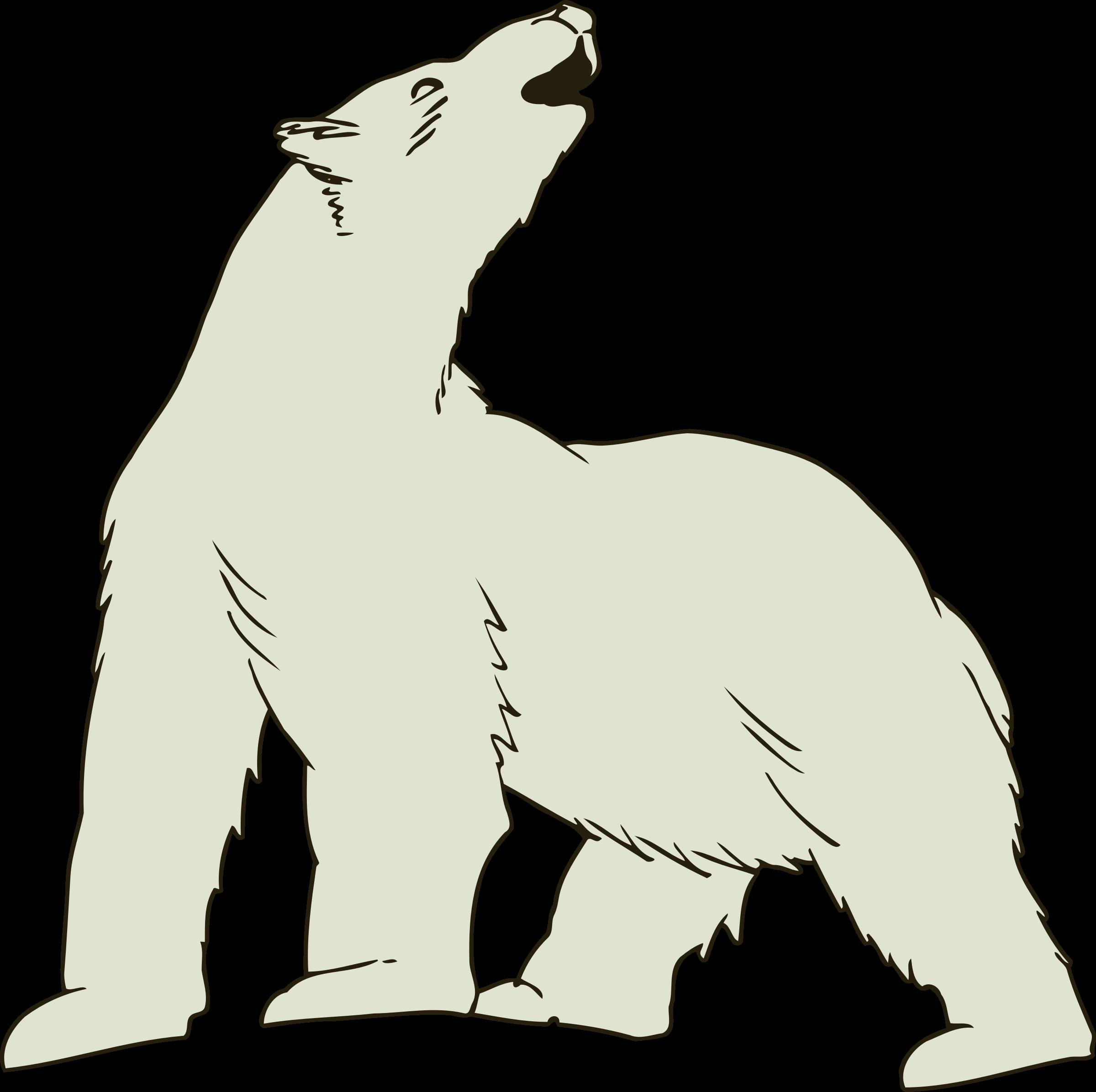 Holiday clipart polar bear. Big image png