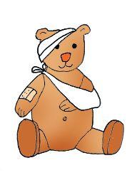 Clip art teddy sick. Clipart bear medical