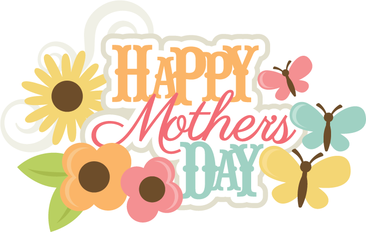 Happy svgs pinterest scrapbook. Words clipart mothers day