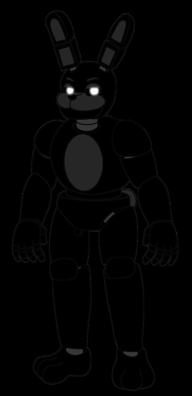 Fnaf shadow bonnie by. Clipart bear muscular