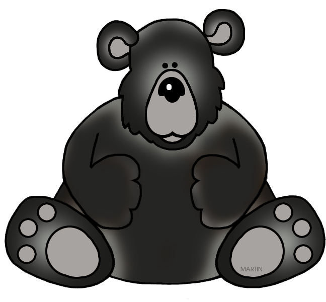 Clipart bear omnivores. Black images free image