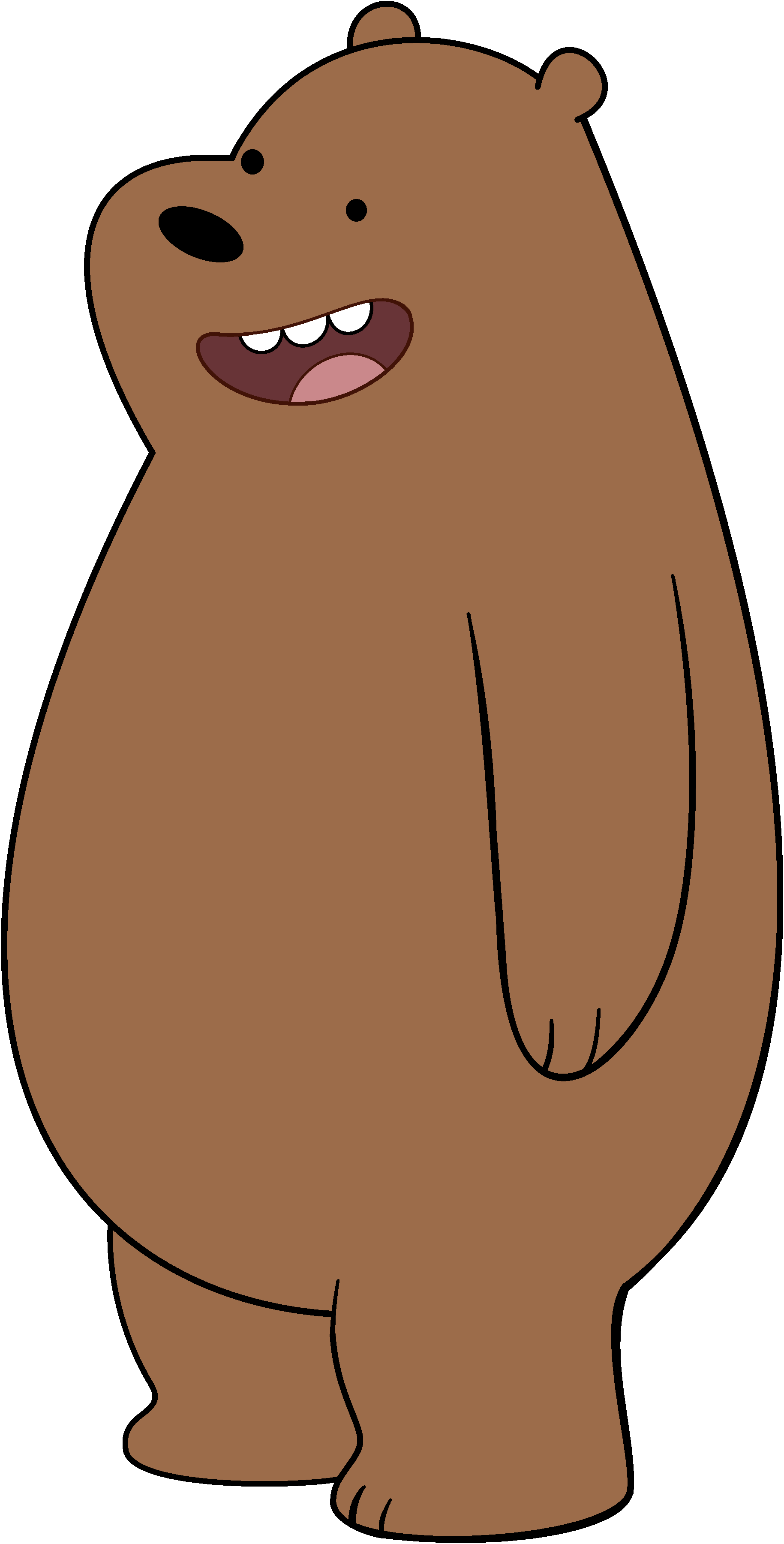 Clipart bear omnivores. Grizzly canon we bare