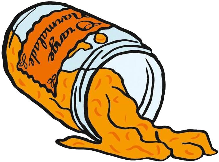 Jam clipart marmalade, Jam marmalade Transparent FREE for ... (758 x 560 Pixel)
