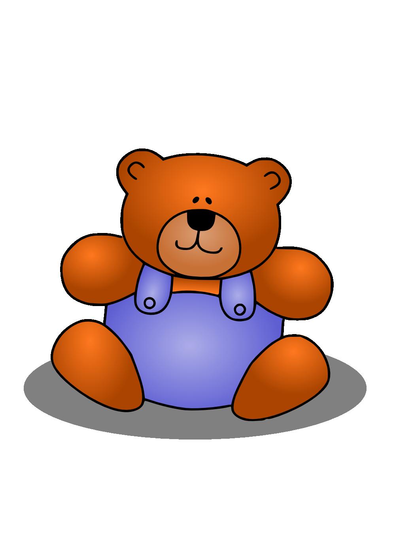 Clipart bear orange. Teddy transparent png pictures