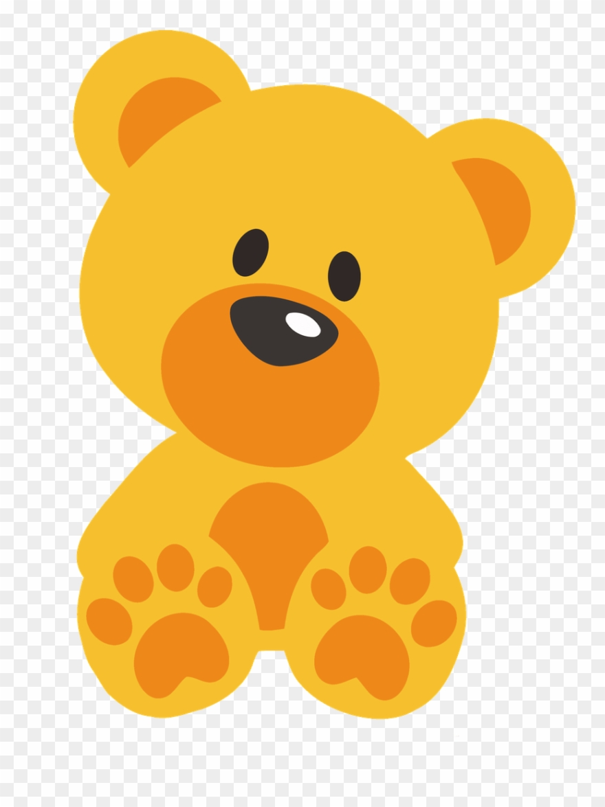Clipart bear orange. Embroidery machines teddy png