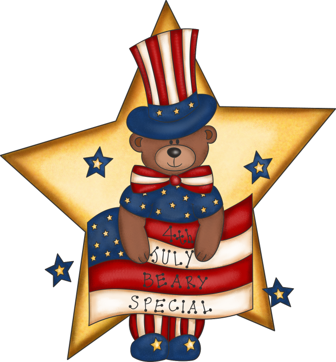 Clipart bear patriotic. Free transparent png files