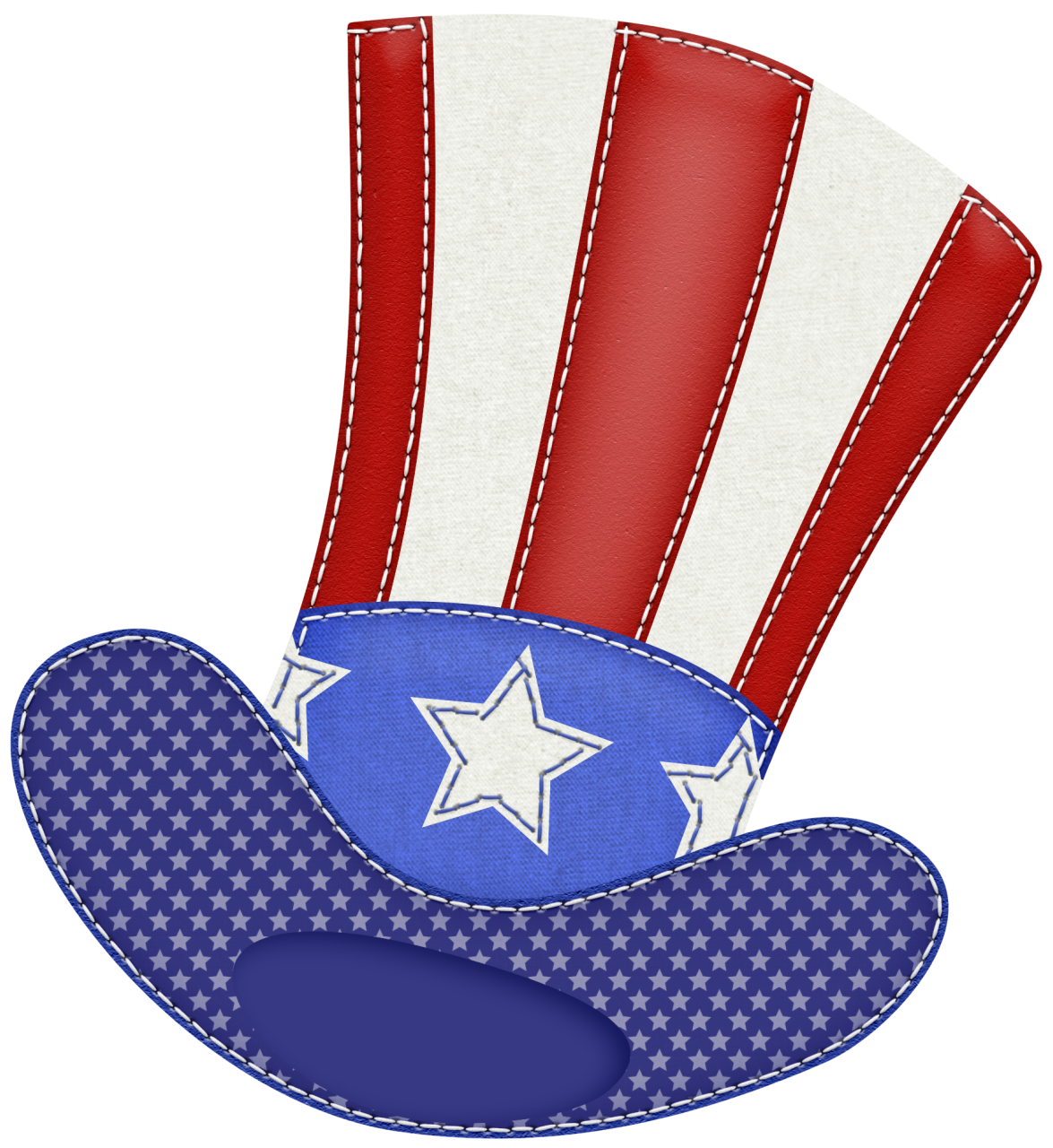 Hat png picture july. Clipart bear patriotic