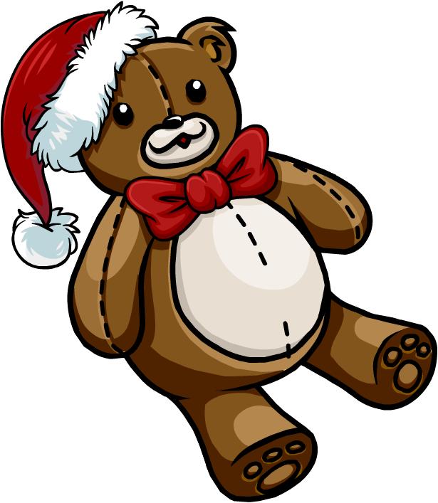 Clipart bear penguin. Holiday teddy club wiki