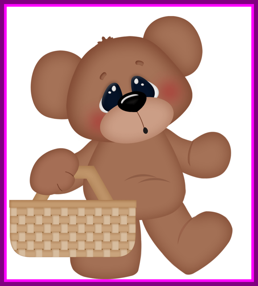 Shocking teddy png and. Picnic clipart bear