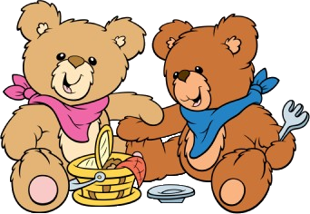 Picnic clipart bear. Teddy free download best