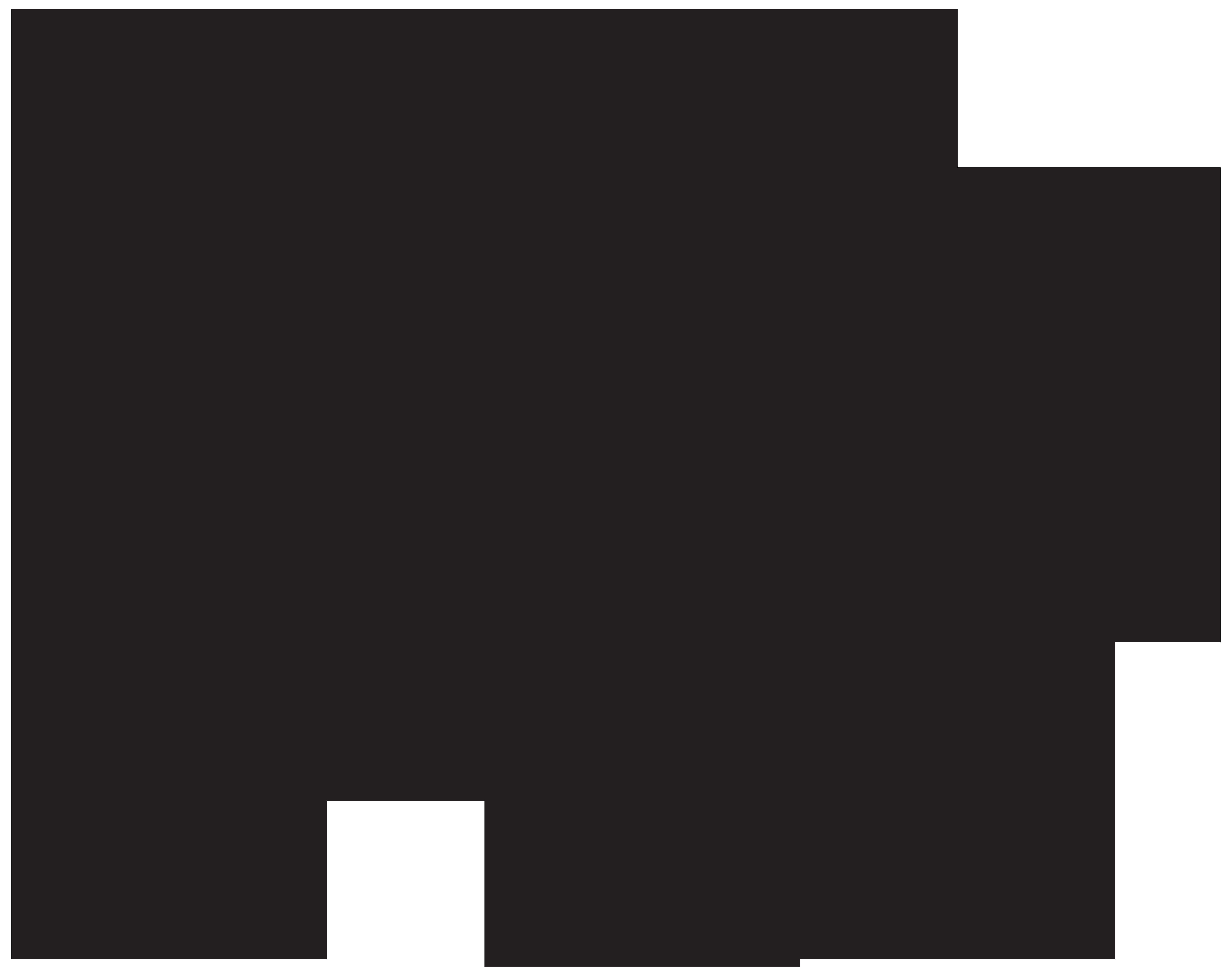 Silhouette png clip art. Clipart bear polar bear