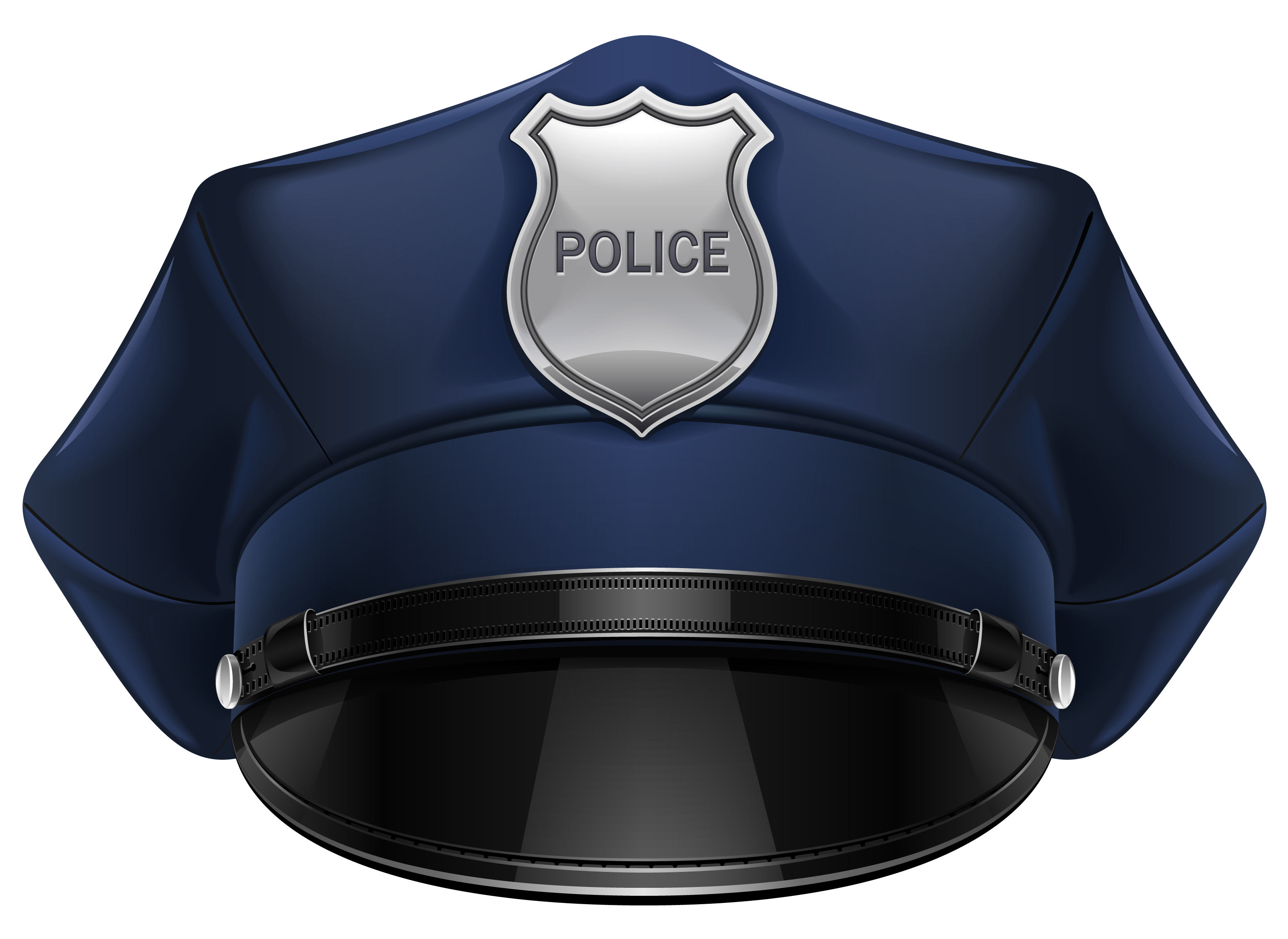 Cop hat drawing at. Clipart bear police
