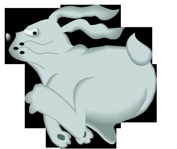 Clipart bunny running. Free rabbit