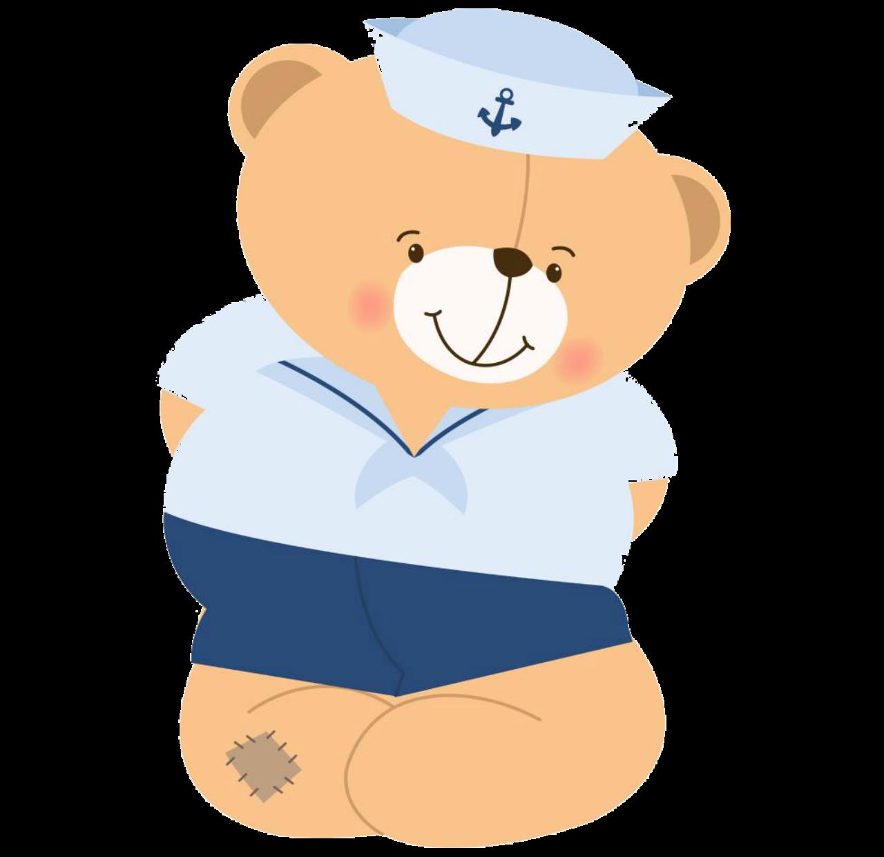 Lady clipart sailor. Bear pretty png sailorbearprettyclipartpng