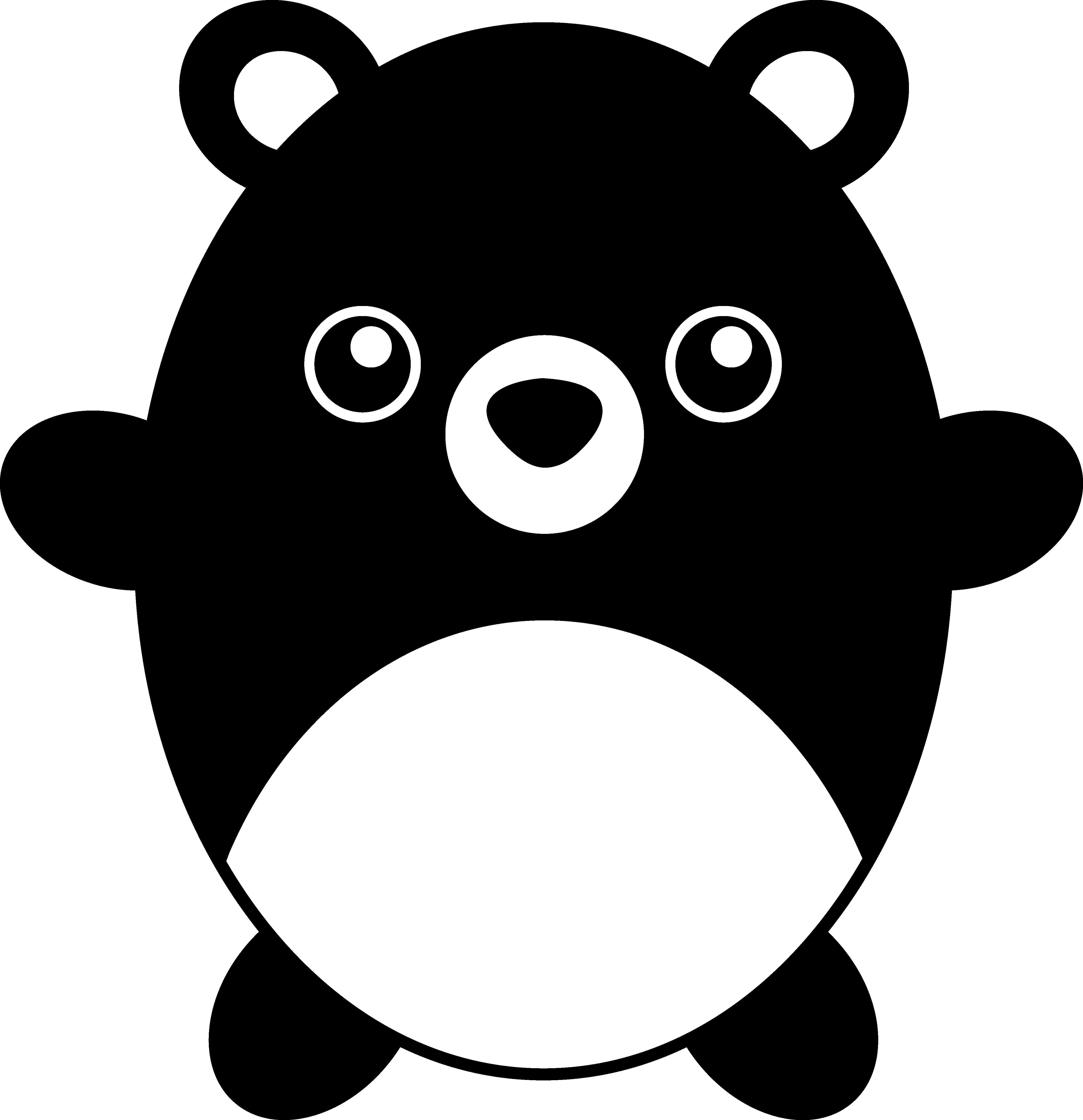 Cute chubby black free. Medical clipart teddy bear