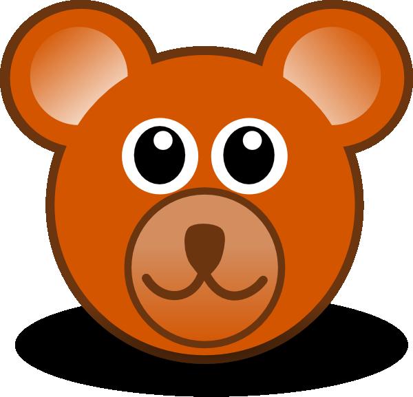 Face clipart bison. Simple bear cub facepaint