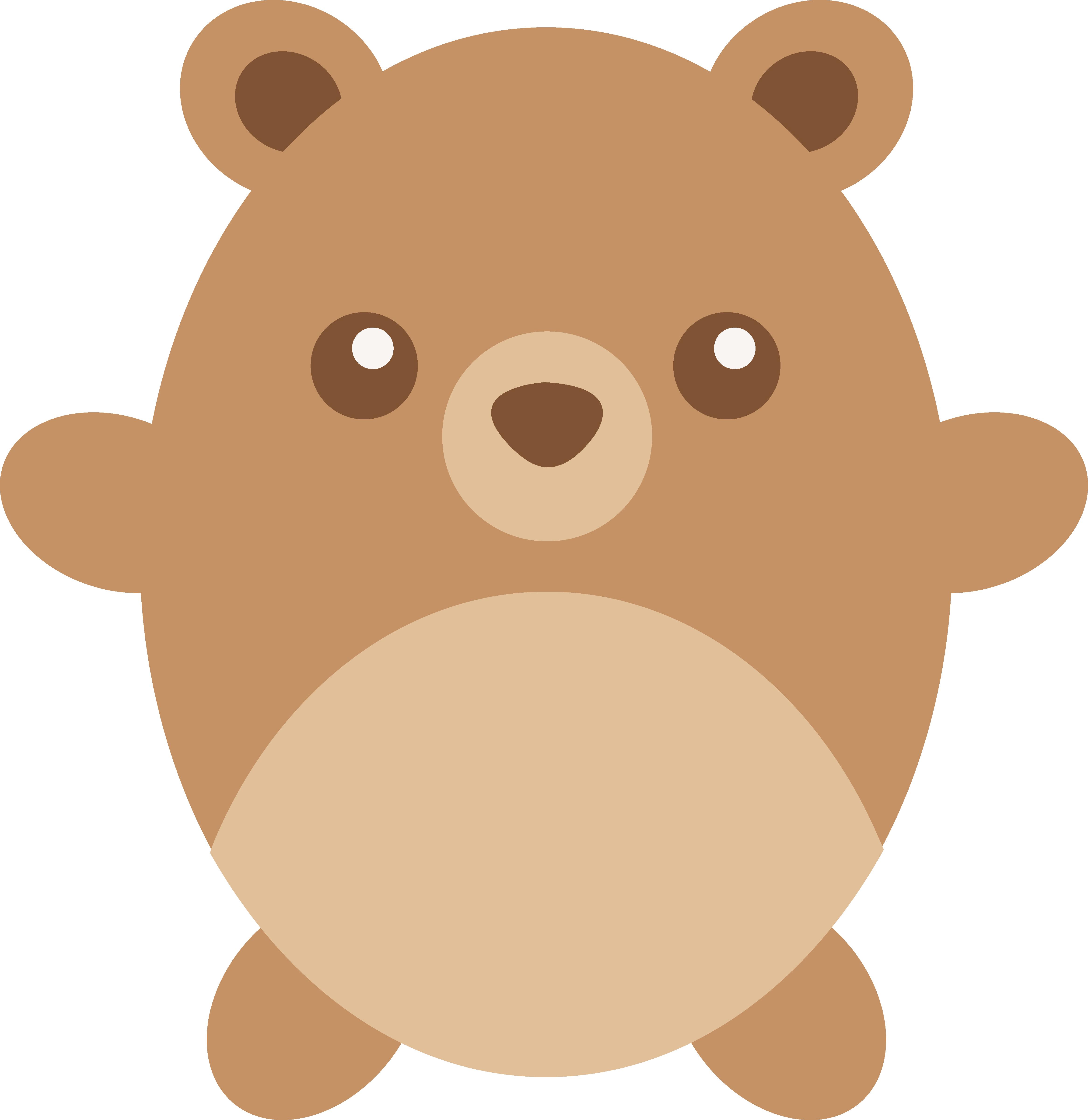 Paw clipart brown bear. Cute drawing at getdrawings