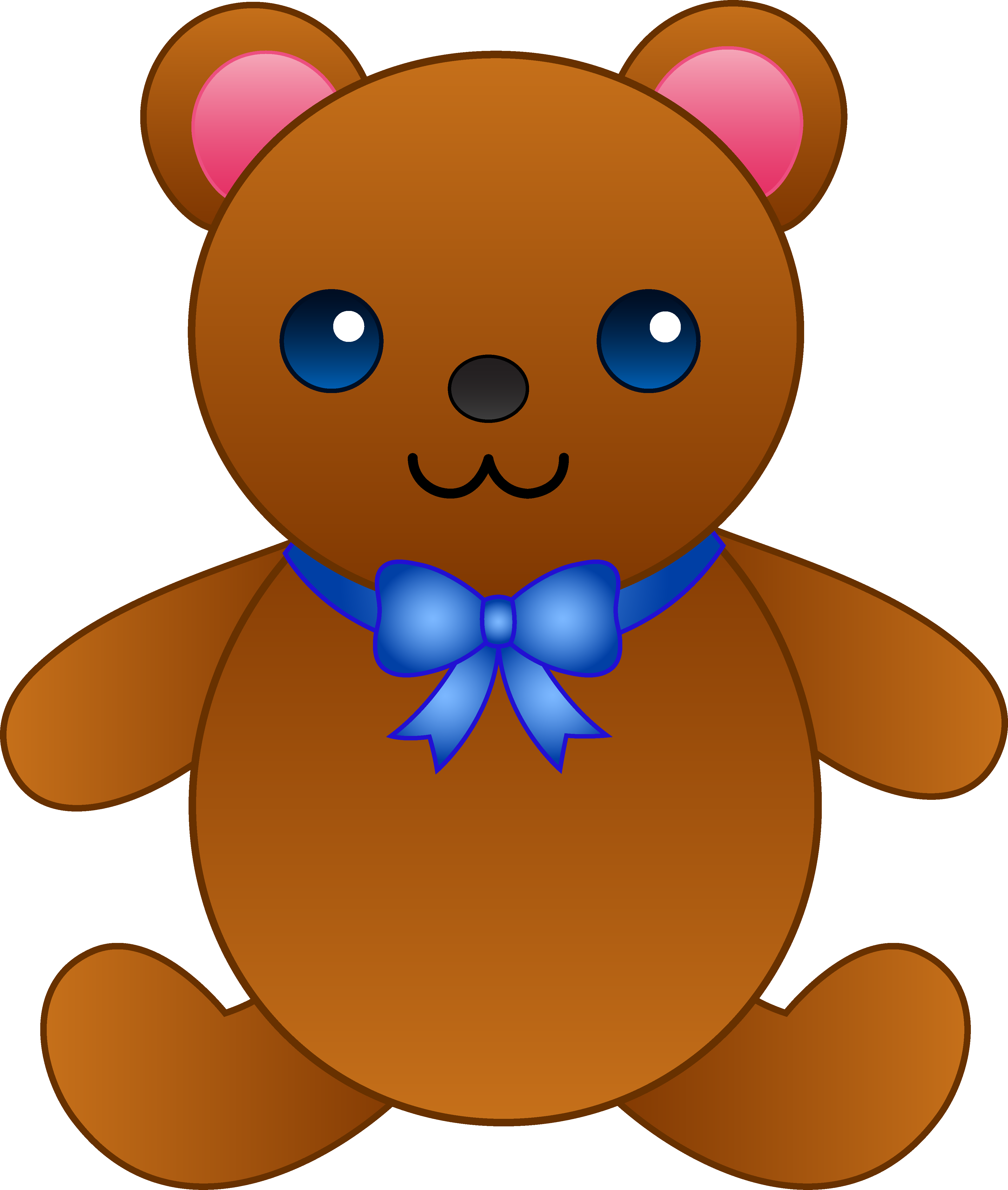 Clipart panda bow. Teddy bear creepy free
