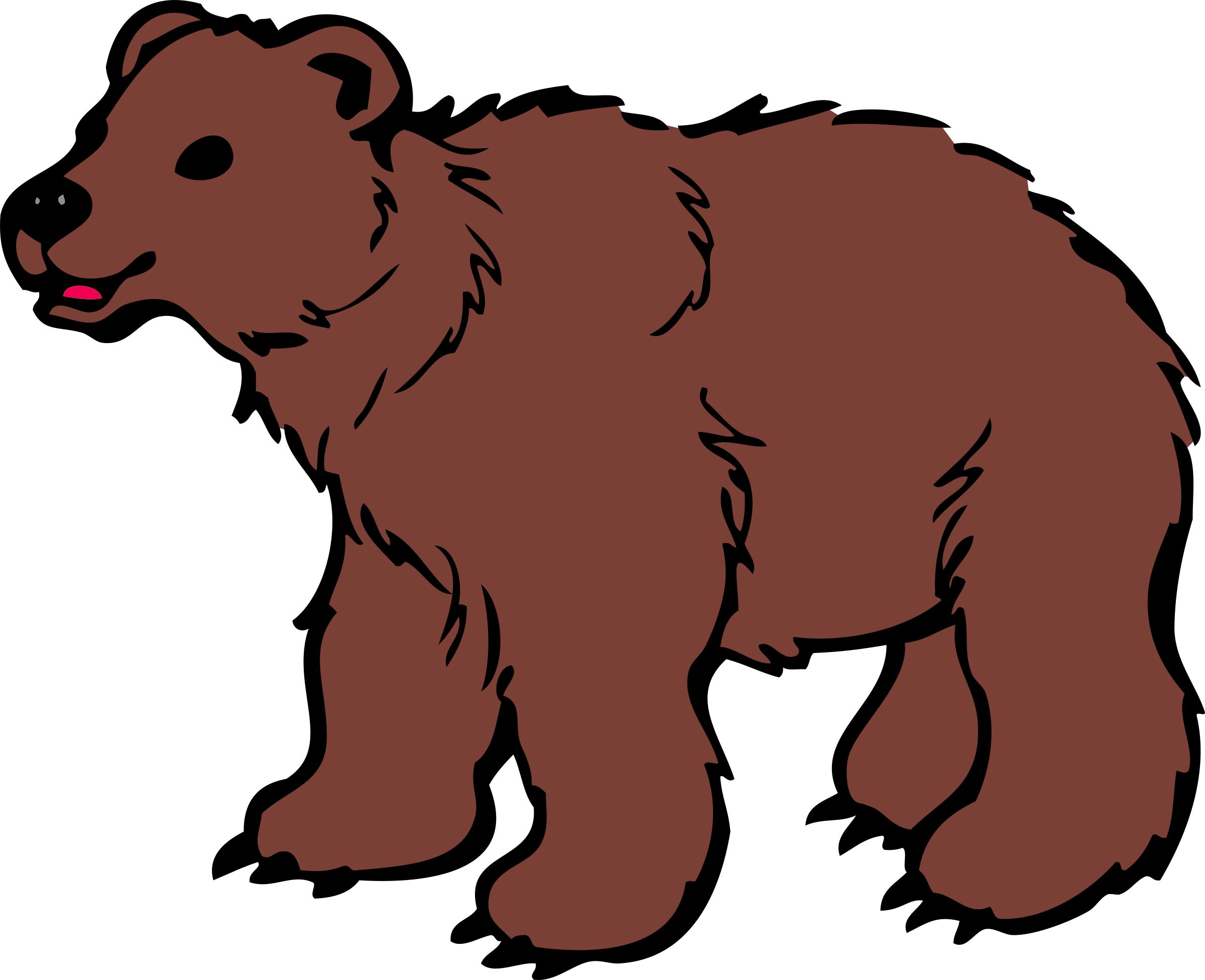 Surprise clipart fright. Polar bear at getdrawings