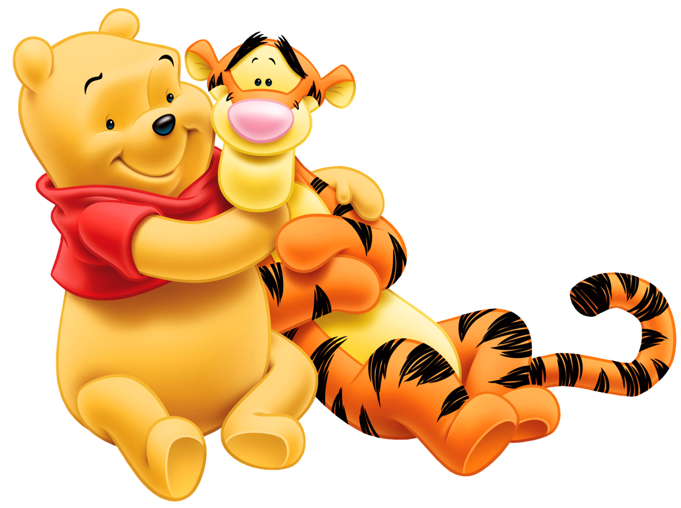 Winnie pooh tigger image. Clipart png cartoon