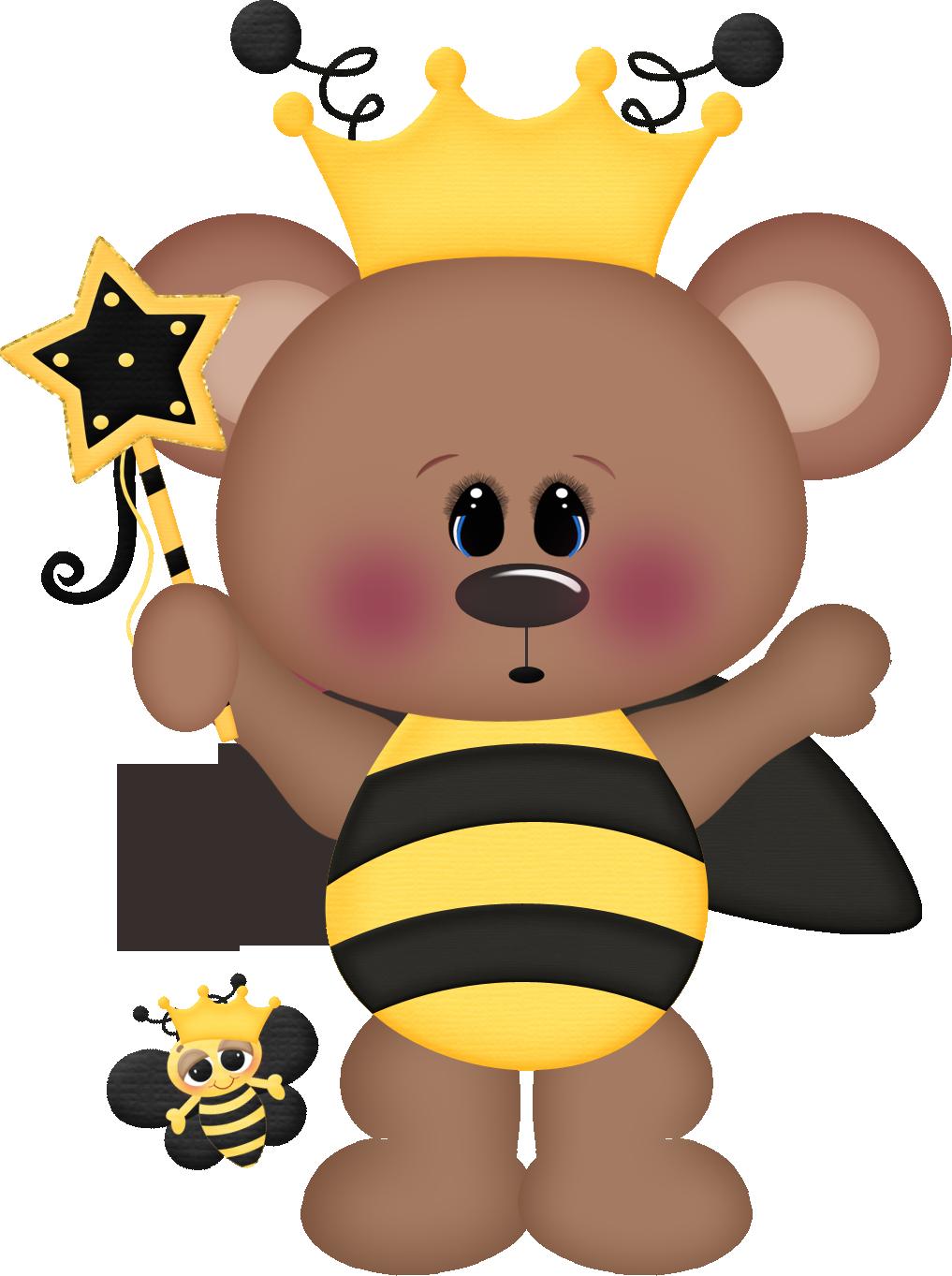 Clipart bee bear. Photo by daniellemoraesfalcao minus
