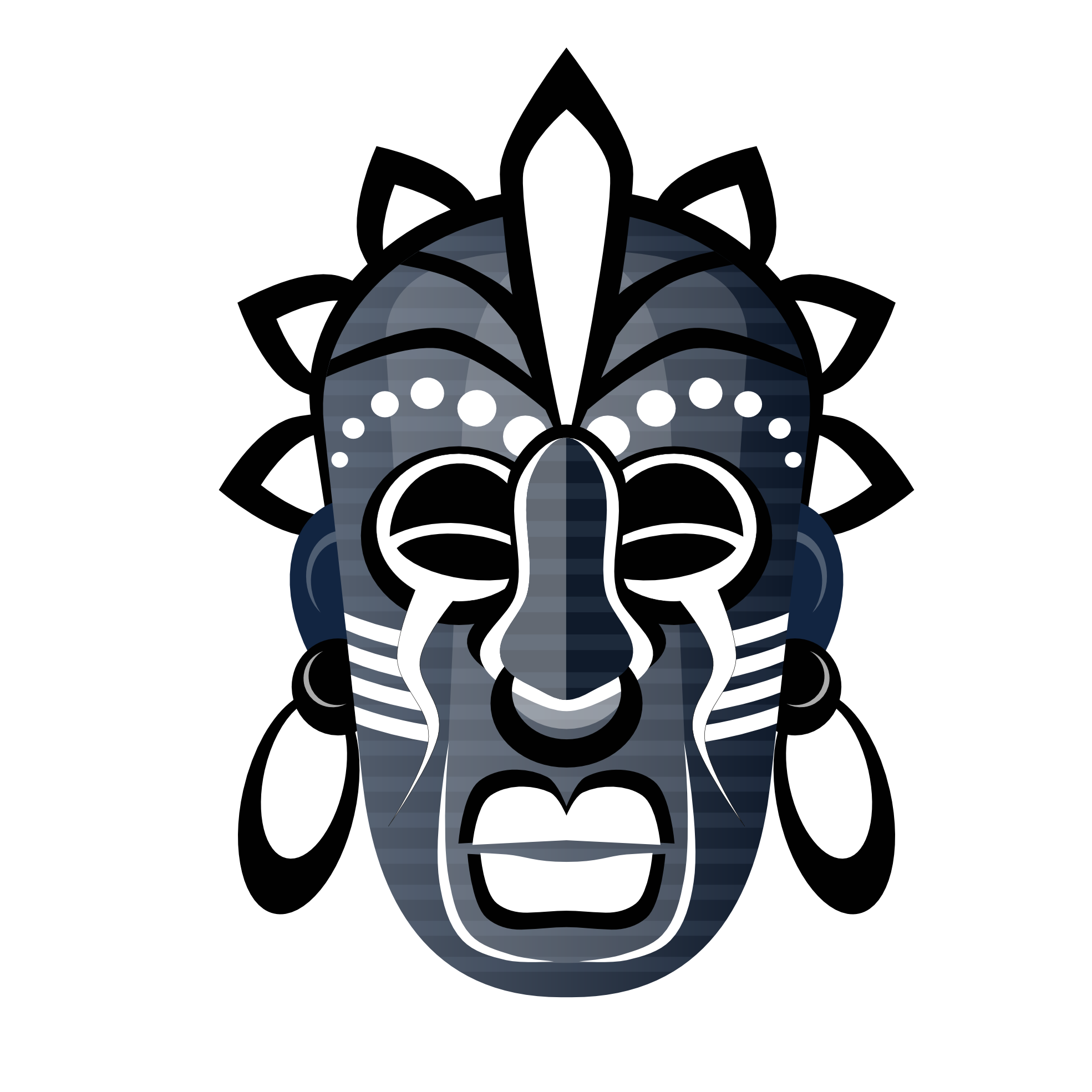Masks clipart tribe