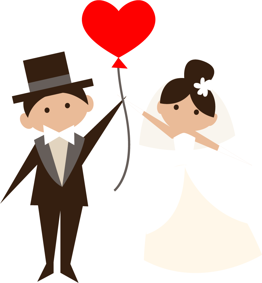 Wedding png transparent free. Clipart people love