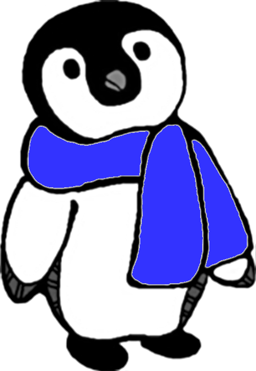 Winter clip art panda. Clipart penquin polar bear